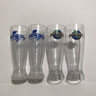 Universal Studios Orlando Bpa Free Plastic Refillable Beer Cups Lot Of 4