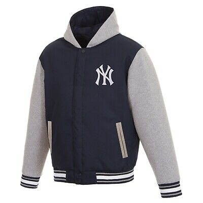 best sneakers deffe f1bd2 OFFICIAL NEW YORK Ny Yankees Fleece Reversible 3Xl Hoodie ...