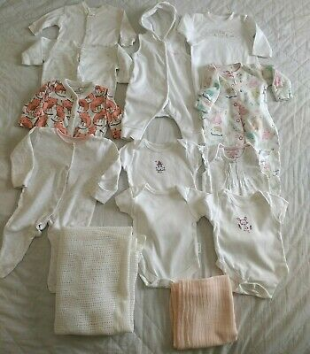 Baby Girl First Size New Born Clothes Bundle Excellent Condition