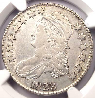 1823 Capped Bust Half Dollar 50C O-103 - NGC XF Details (EF) - Nice Luster!