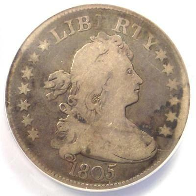 1805 Draped Bust Quarter 25C - ANACS VG8 - Rare Certified Coin - $700 Value!