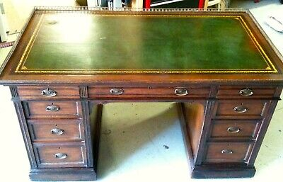 Gillows of Lancaster Partners Desk Leather Top 1780–c.1850