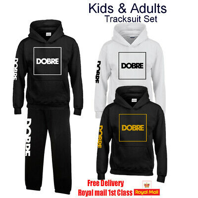 DOBRE Brothers Team Boys Girls Mens Womens Hoodie Top Tracksuit Set, Youtube.