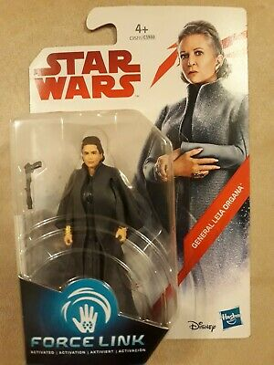 "NEW Star Wars Force Link The Last General Princess Leia 3.75"" Action Figure"