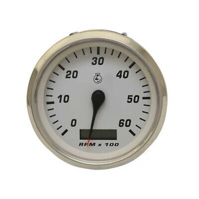 FARIA BOAT TACHOMETER Gauge TC9931C | Rinker 3 3/8 Inch ... on