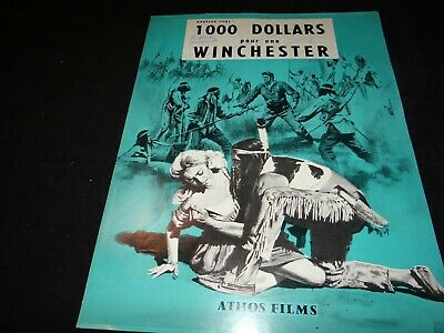 1000 DOLLARS POUR UNE WINCHESTER  synopsis presse cinema 1964 western