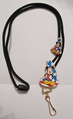 WDW Cast Exclusive Patriotic Sorcerer Mickey Mouse Lanyard and Pin LE 750/1500