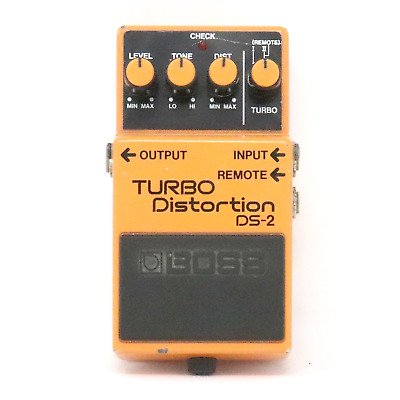 Vintage 1988 Boss DS-2 Turbo Distortion Pedal - Made in Japan - FREE SHIPPING!!!