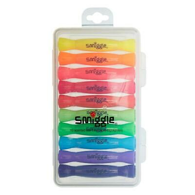 Pack Of 10 BNIB Smiggle Bonbon Scented Highlighters Great Party Bag Fillers.