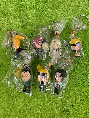 Lot of 7 Naruto Key Chains - BRAND NEW!!!!