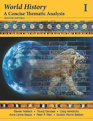 World History Vol. 1 : A Concise Thematic Analysis