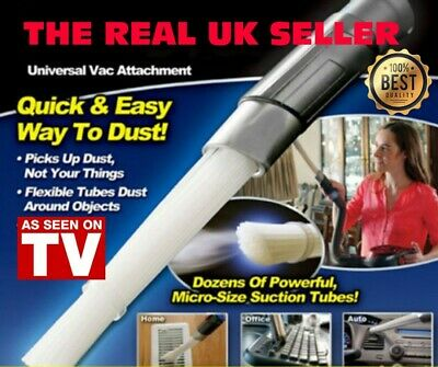 The Real Dust Daddy Brush Cleaner Remover Vacuum Attachment Cleaning UK Seller
