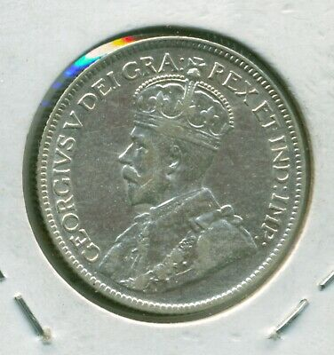 Canada 25 cents 1930 VF