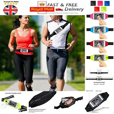 Running Belt Pouch Fitness Walking Sports Waist Pack for Phone Keys Cards Cash