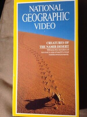 National Geographic Video - Creatures of the Namib Desert - BRAND NEW VHS TAPE