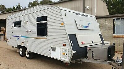 2006 Coromal Caravan Shower Toilet Diesel Heater + More *SEE VIDEO*