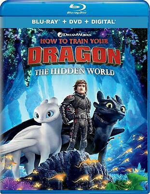 How to Train your Dragon: The Hidden World (Blu-ray ONLY, 2019) No DVD/Digital