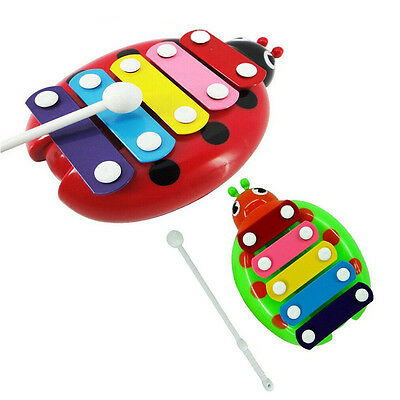 Wisdom Development Festival Gift Toddler Kid Puzzle 5-Note Xylophone Musical Toy