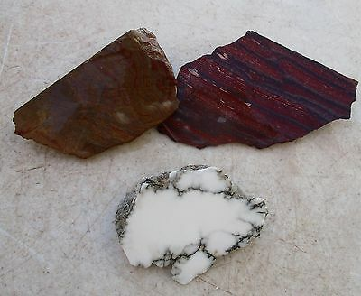 Rough Red Snakeskin Agate Wholesale Lapidary Cab Slab Ab0254 Collectibles 56.35cts Rare!! Other Rocks, Fossils, Minerals