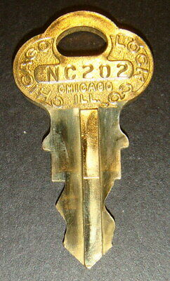 Original Northwestern NC202 Vending Key for Lock & Barrel Lock Peanut Gum ball