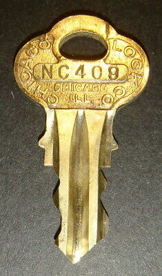 Original Northwestern NC409 Vending Key for Lock & Barrel Lock Peanut Gum ball