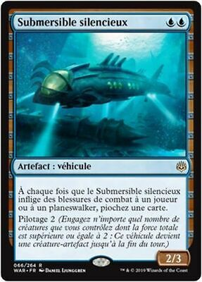 MTG Magic WAR - Silent Submersible/Submersible silencieux, French/VF