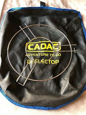 Cadac Adventure To Go.Cadac Adventure To Go Deflector Cover Pot Stand
