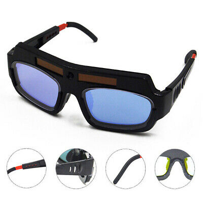 Solar Powered Auto Darkening Welding Mask Helmet Eyes Goggle Welder Glasses Safe