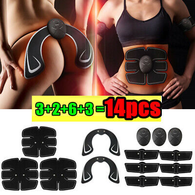 Hot!Abdominal Muscle Trainer Stimulator EMS Hip Buttocks Lifter Training Machine