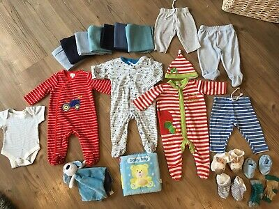 Baby Boys Clothing Bundle 0-3 Months Snoopy, Hungry Caterpillar Etc