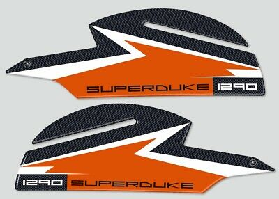 Protection Front Fender Stickers 3D Compatible with Motorcycle KTM 1090 Adventure