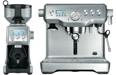 Breville BEP920BSS, BES920+BCG820 Dynamic Duo Coffee Machine WorldWide delivery