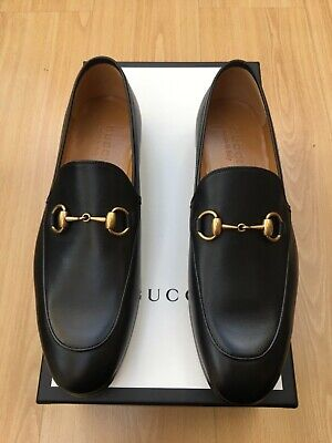 d02a67f072fae GUCCI BETIS GLAMOUR Men's Leather Loafers, Black, Size 10, New, Made ...