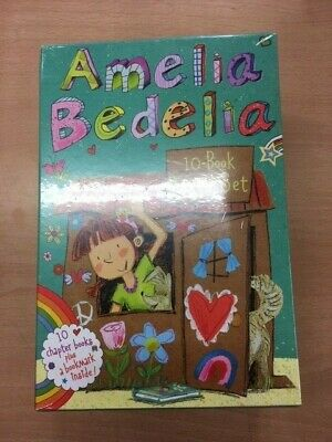 Amelia Bedelia Chapter Book 10-Book Box Set by Herman Parish NEW SEALED