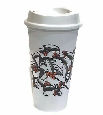 Starbucks Reusable Cup For Travel With Coffee Cherry 2019 Limited Edt NEW!