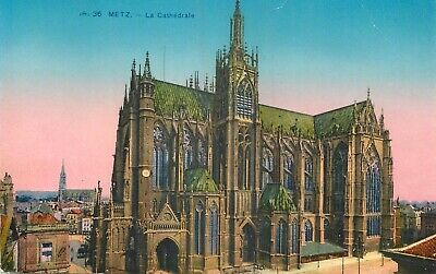 Cp Metz Cathedrale - C 14105