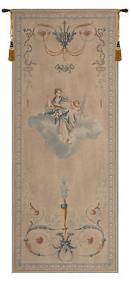 Portiere Blue Lady French Tapestry