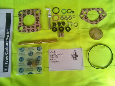 SU HIF 38 Carburettor rebuild kit mini metro carb