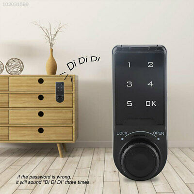 5D4F Touch Keypad Cabinet Code Lock Electronic Code Lock ABS Wardrobe Universal