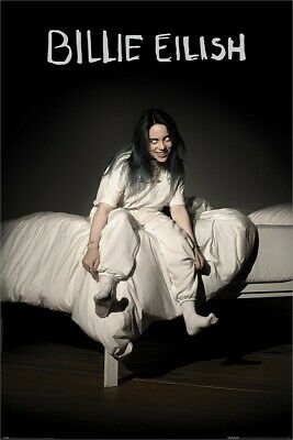 Billie Eilish Poster When We All Fall Asleep Where Do We Go Maxi 61 x 91.5cm