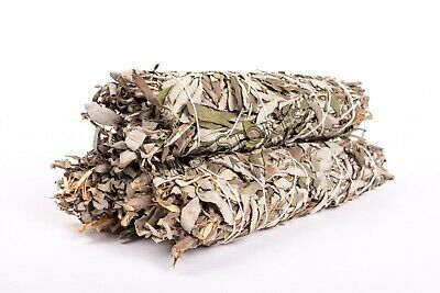 "Black Sage Smudge Incense 8""-9"" Bundle (3 pcs) #JC-142"