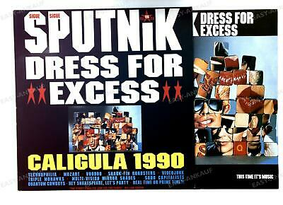 Sigue Sigue Sputnik - Dress For Excess Europe LP 1988 + Innerbag '