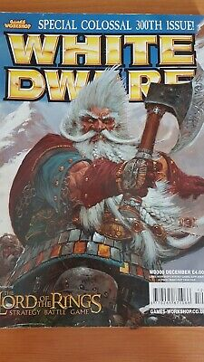 White Dwarf Magazine - Back Issue 300 December 2004 (300th Issue)