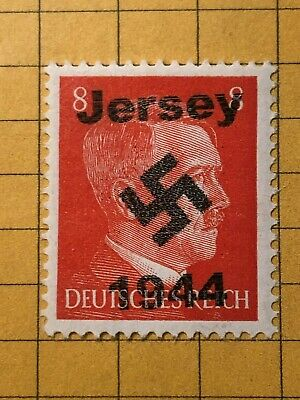 GERMANY GREAT BRITAIN (Jersey) WWII-GERMAN OCC. 8 Rpf.  MNH Priv. issue /s1