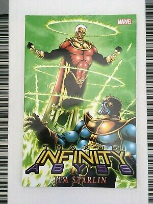 Thanos Infinity Abyss. Marvel Comics. Paperback