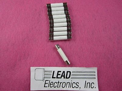 QTY 10 FUSE 20-AMP CERAMIC fast acting 6MM X 30MM EQUAL- ABC-20