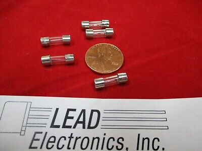 Qty5 7-Amp  2Ag 250V Fuse  Fast Acting Miniature 4.5Mm X 15Mm 7A Glass Body