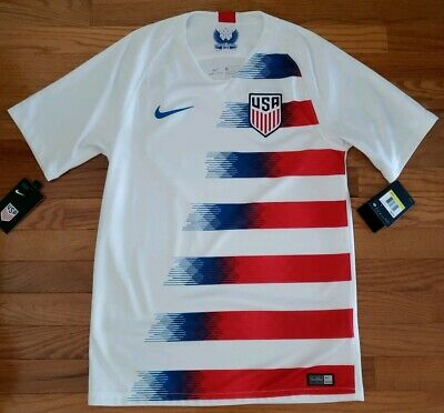 4328f0896 New Nike Team USA USMNT Home Soccer Jersey Men s Small 2018 Dri-fit  90 NWT