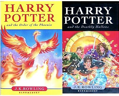 Bücherset: 2 Bücher von J. K. Rowling - Harry Potter and the Deathly Hallows, ..