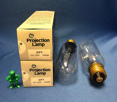 GE DPT Projection Lamp 115/120V 1000W LOT OF 2